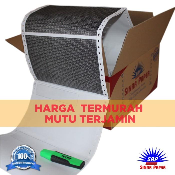 Foto Produk SLIP GAJI / KERTAS CARBONIZE / PAY SLIP / MODEL PENDEK  ISI 100/SET dari Sinar Paper