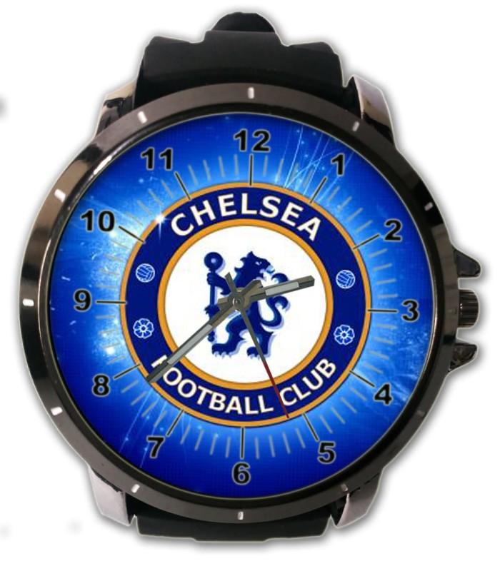 Jual Jam Tangan Custom Chelsea Fotbal Club Logo Keren - putra ... 1685f2e4f4