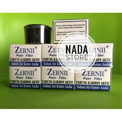 Karbon Zernii Pembelian Satu Pak / Refill Carbon Zerni Filter