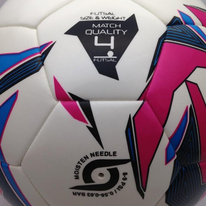 Jual Bola Futsal Mitre Pro Futsal White Magenta BB1351WG7 Original ... bfe61bf56e15c