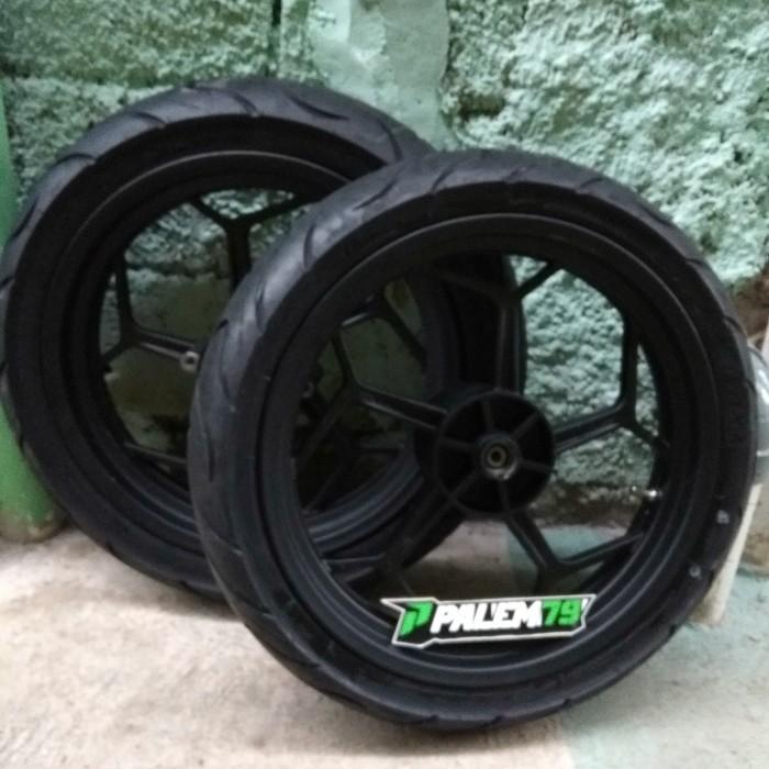 harga Wheelset racing supermoto klx 150 dtracker - paket ban 17 110 & 130 Tokopedia.com