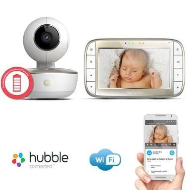 harga Motorola mbp855 connect video baby monitor wi-fi remote 5 inch Tokopedia.com