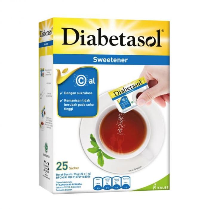 Diabetasol Sweetener 25 Sachet
