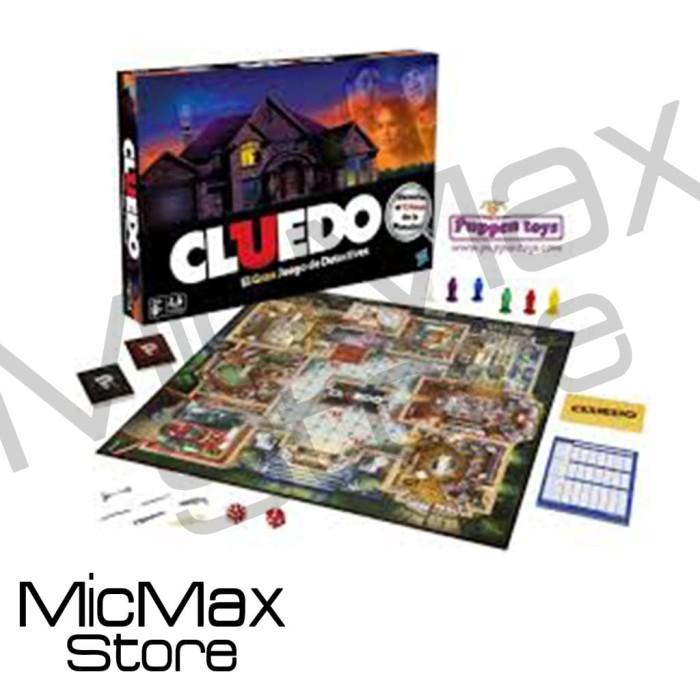 harga Cluedo the classic mystery game not monopoly mainan original hasbro Tokopedia.com