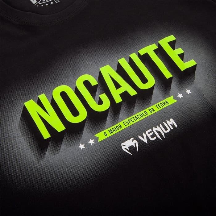 Venum nocaute t-shirt - black