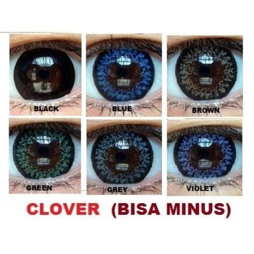 Best Softlens Aquas Clover / Soft Lens aquas clover Color DEPKES