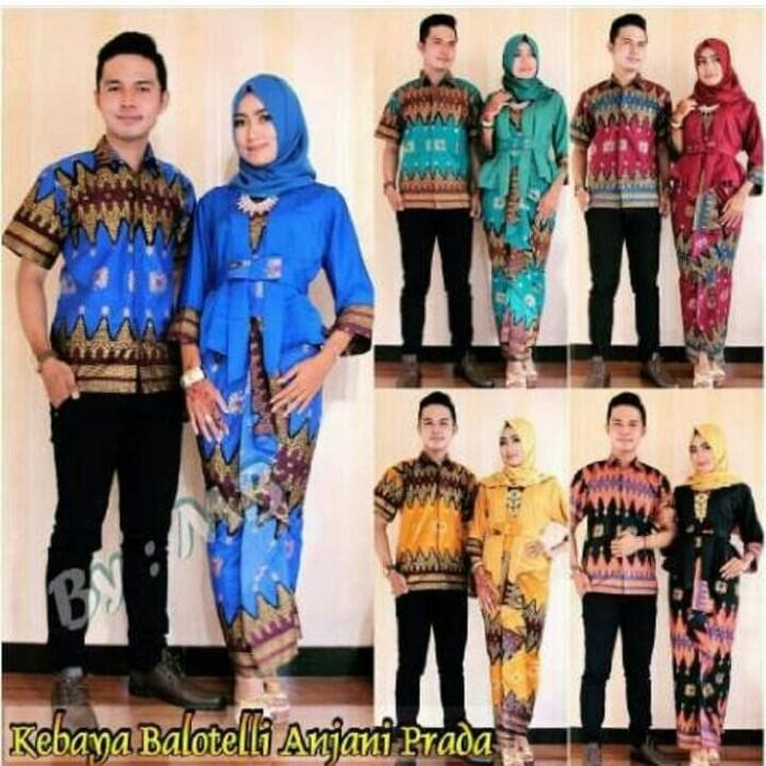 Jual Baju Batik Sarimbit Couple Kebaya Anjani Balotely - Gallery ... 647ce9c516
