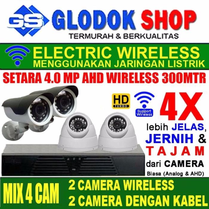Foto Produk PAKET CCTV SUPER HD NVR 4 IP CAMERA TERMURAH IP KAMERA dari violota shop