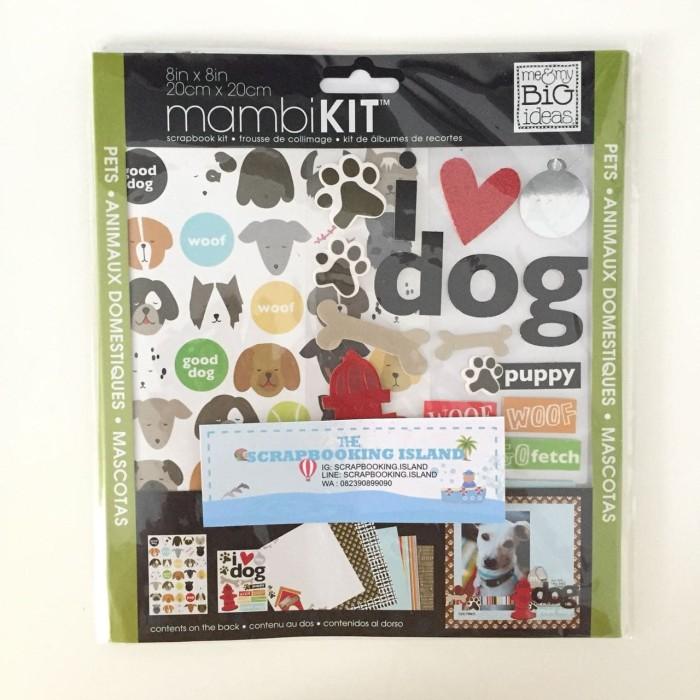 Jual Mambi Scrapbook Kit 8x8 Pets Scrapbooking Island Tokopedia
