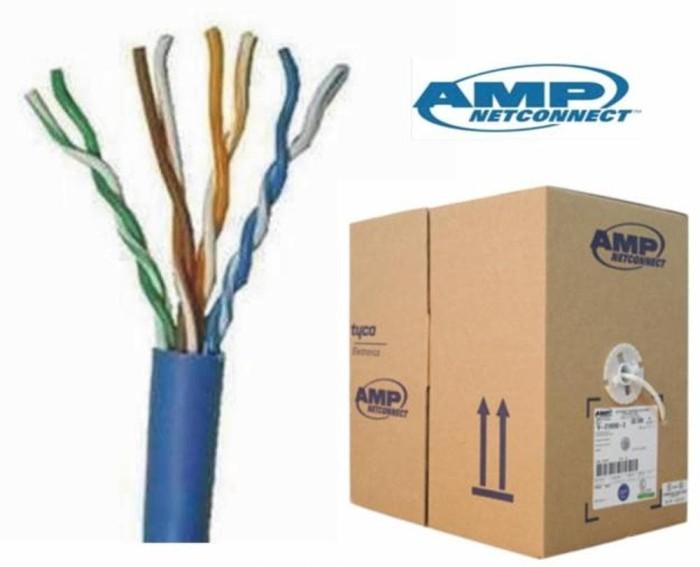 harga Amp cable utp cat.6 (1427071-6) Tokopedia.com