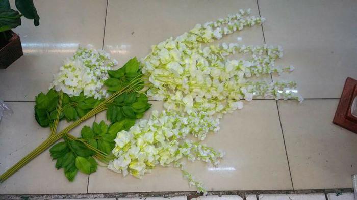 Jual Bunga Juntai Bunga Wisteria - Putih - Toko Nirmada  c67ba2c525