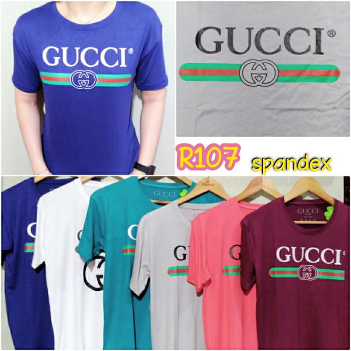 3474ac42 Jual Tumblr Tee /kaos T-shirt wanita/kaos Gucci - Hijau Tosca, L ...