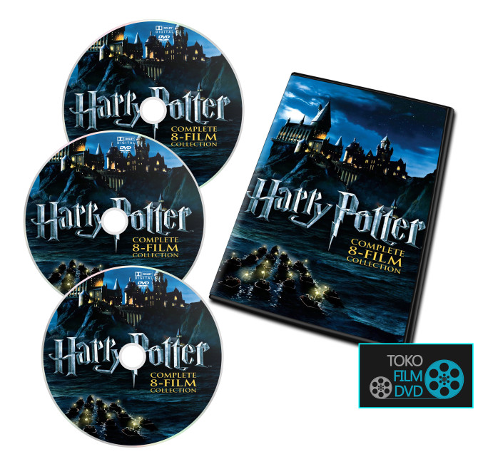 harga Film dvd 8 pack harry potter collection Tokopedia.com