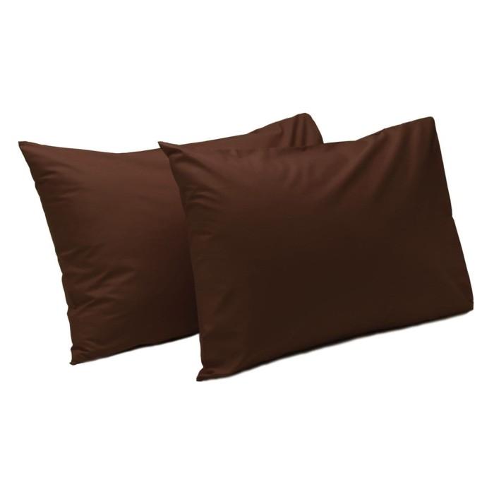 harga Sarung bantal tidur jumbo size 'calico' coffee 2 pcs Tokopedia.com