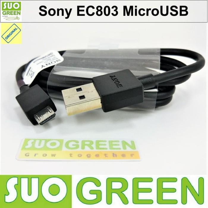 [original100%] kabel data micro usb sony ec803 original