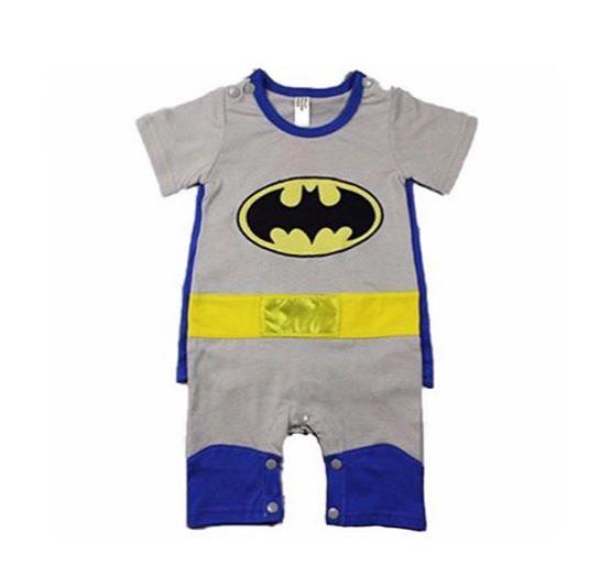 harga Jumpsuit anak model batman / romper batman grey Tokopedia.com