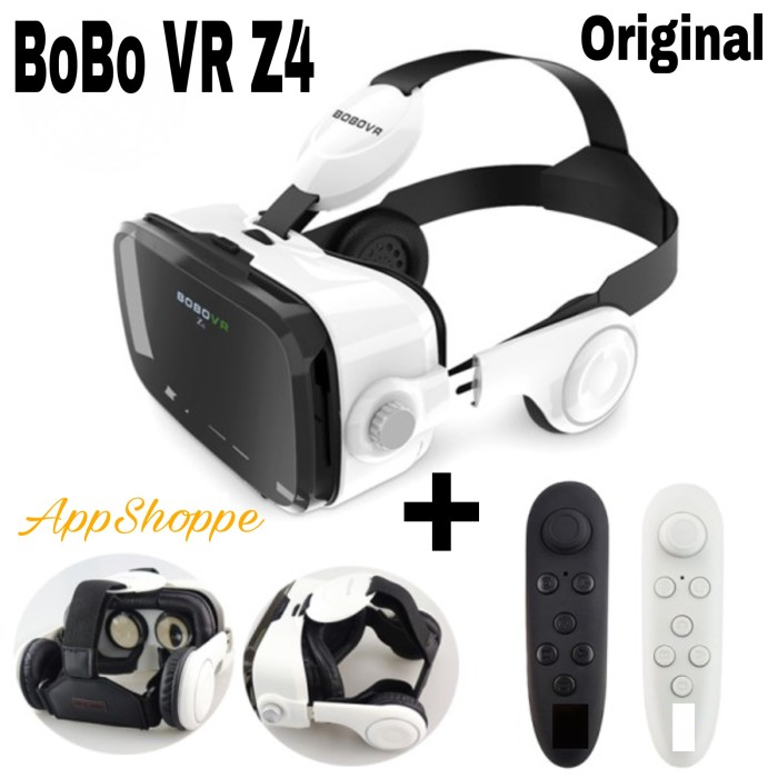 Foto Produk VR BOX BOBOVR Z4 Virtual Reality 3D Glasses4 with REMOTE CONTROLLER dari AppShoppe
