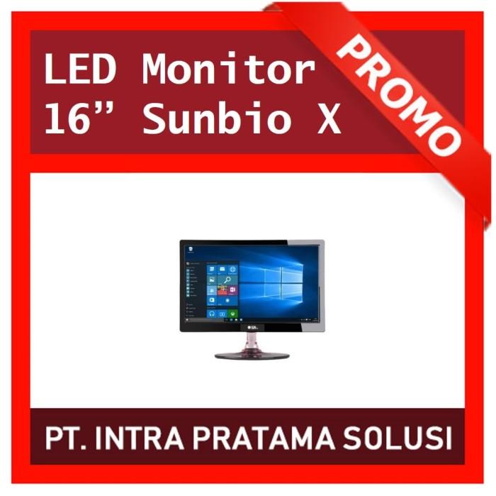 "Foto Produk Monitor LED SUNBIO 15.6"" SIZE 16"" VGA dari PT. Intra Pratama Solusi"