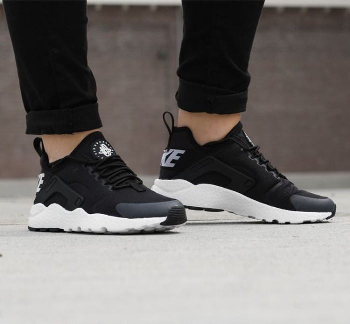 2e43e01b0a70e Jual sepatu nike air huarache ultra black white hitam putih - Kota ...
