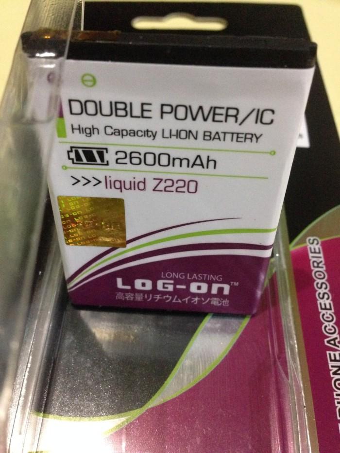 Baterai Acer Liquid Z220 Z205 Z200 2600mah Double Power Log On