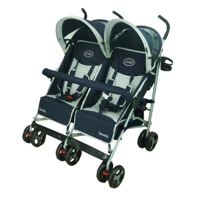 harga Stroller kereta baby kembar pliko 2168  twin speedy Tokopedia.com