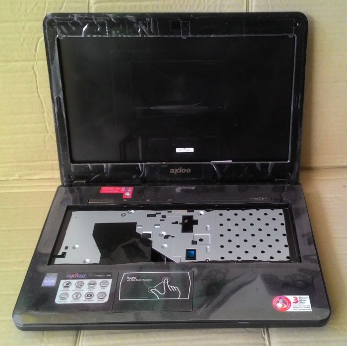 harga Casing laptop axioo neon hnm full black new Tokopedia.com