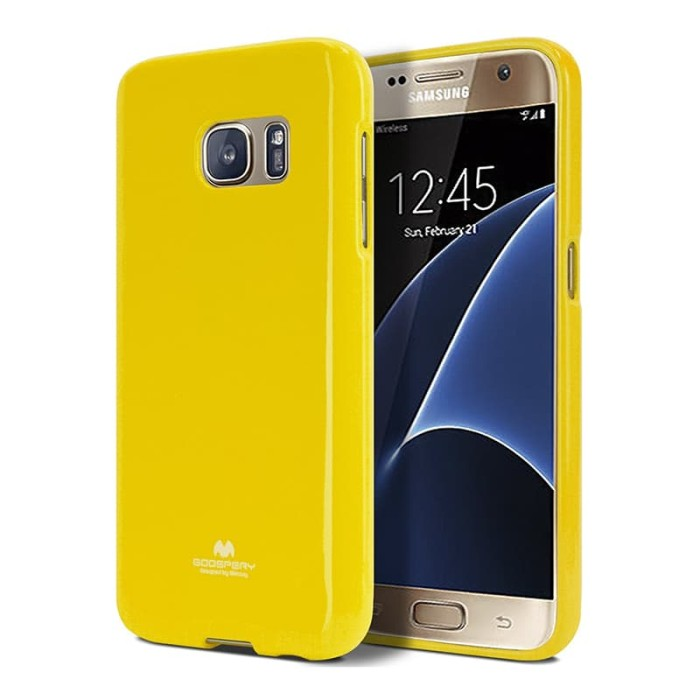 goospery samsung a5 2016 pearl jelly case - yellow