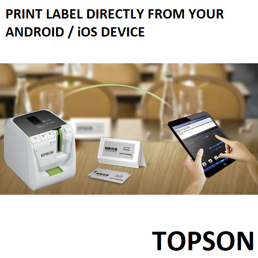 Jual Epson LW-1000P Barcode QR Code Logo Inventory Aset