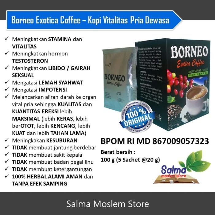 Borneo Exotica Coffee - Kopi Vitalitas untuk Stamina Pria Dewasa