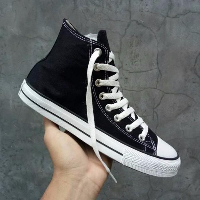 700045a1c634 Jual Sepatu Converse Chuck Taylor CT All Star OX Classic High Black ...