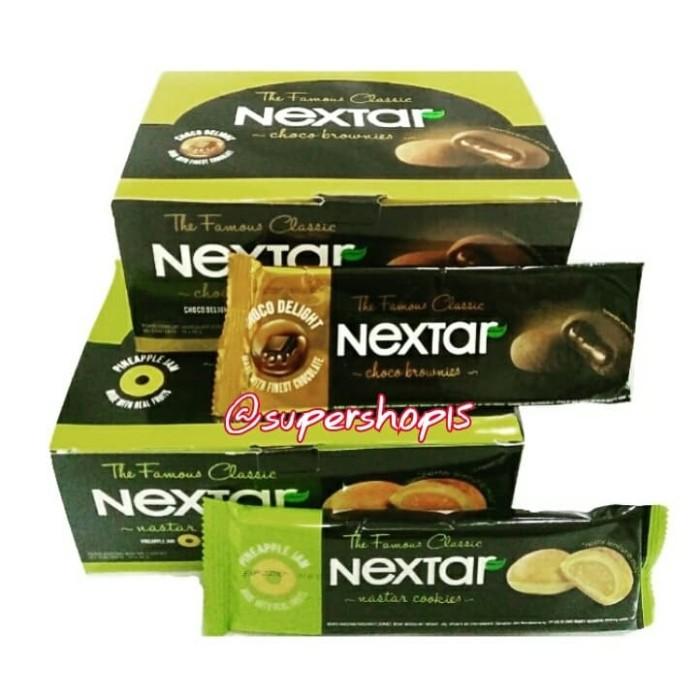 harga Nextar nabati nastar cookies / choco brownies 10 pcs x 42 gram Tokopedia.com