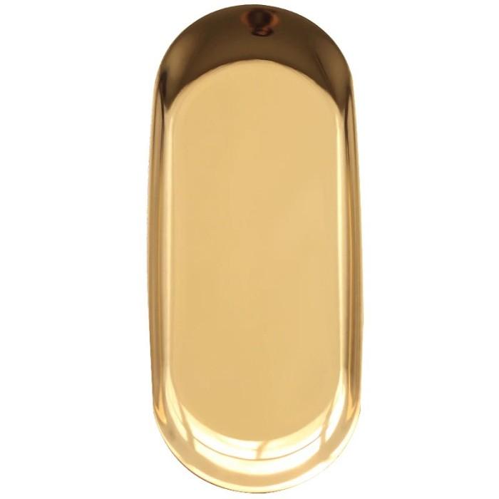 Foto Produk Gold plate/Plate/piring multifungsi furniture dekorasi asesoris BESAR dari woo.jia