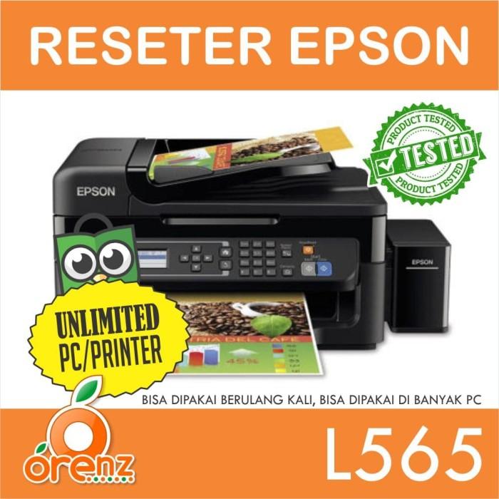 Jual Resetter Epson L565 Unlimited Kurun Orenz Shop Tokopedia
