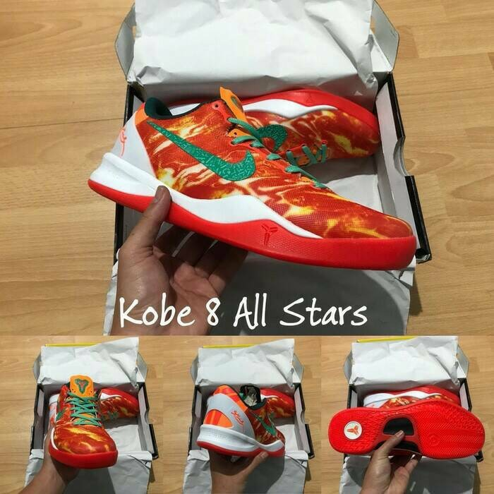 Jual Sepatu Basket Nike Kobe 8 Gradient Purple Ungu Kota