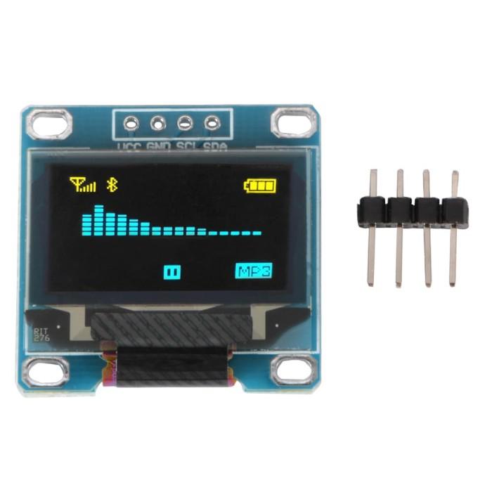 "Foto Produk Module OLED 0.96"" I2C Arduino display white 128x64 dari solarperfect"