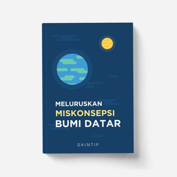 Foto Produk Buku Meluruskan Miskonsepsi Bumi Datar dari Saintif Store