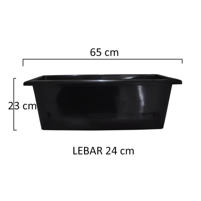 GOJEK Jirifarm Pot Hitam Jumbo Panjang 67 cm 11857