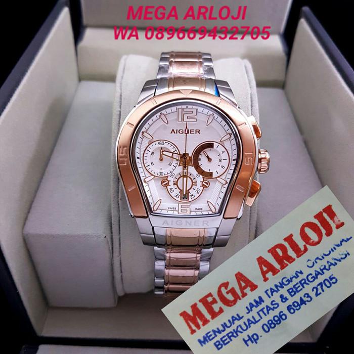 harga Jam tangan cewek wanita aigner palermo rantai kombinasi rose super  aaa Tokopedia.com efc01f1450