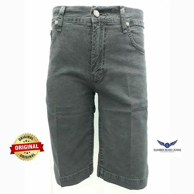 Jual Celana Jeans Pendek Pria Warna Abu Abu Stretch Merk Body Boss Original Abu Abu Muda 30 Sumber Rejeki Jeans Tokopedia