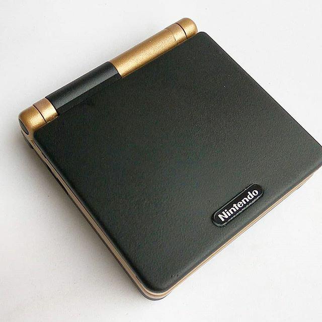 harga Nintendo gameboy advance sp gba sp 001 gold charcoal Tokopedia.com