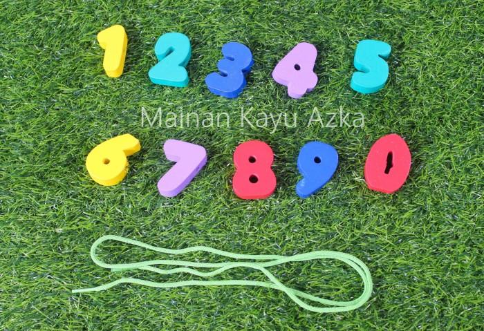 Mainan Kayu Edukatif - Ronche Angka