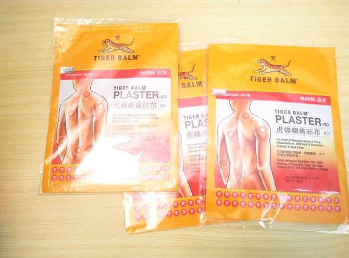 harga Tiger balm plaster warm / koyo (besar) 10x14cm - 2 sheet Tokopedia.com