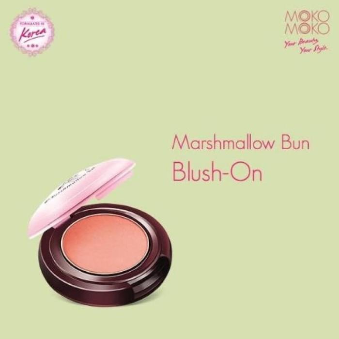 Moko Moko Marshmallow Blush on Peach - Pemerah Pipi Blush On