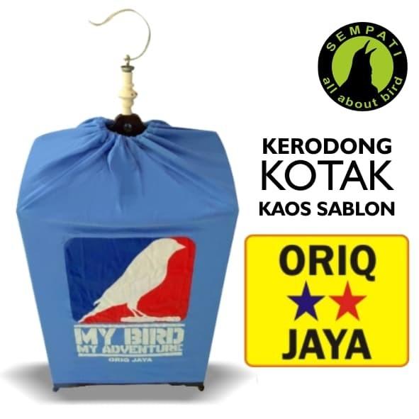 harga Kerodong krodong sangkar burung lomba kotak sablon no.123 oriq jaya Tokopedia.com