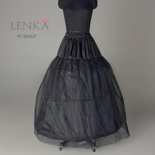 harga Petticoat pesta wedding hitam l rok pengembang gaun pengantin (3 ring Tokopedia.com