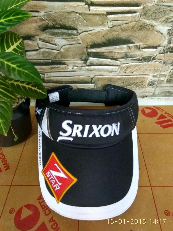 Jual jual golf Visor Srixon Black jual peralatan golf - toko golf ... 502bbc601f7