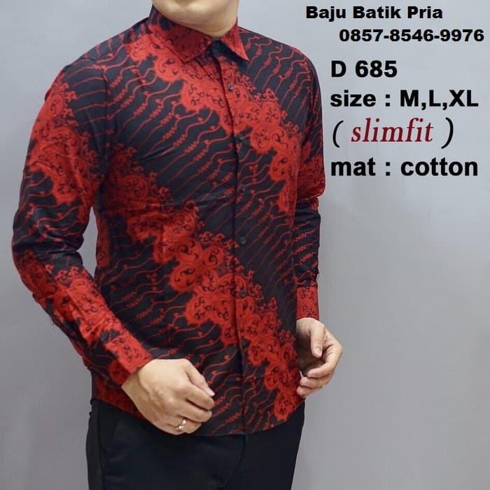 Model Baju Batik Terkini - Baju Batik Online - Baju Batik Kombinasi 8a18eb7b20
