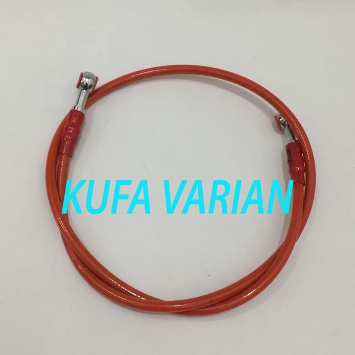 harga Kabel selang rem depan motor universal ukuran 1,3 meter / 130 cm Tokopedia.com
