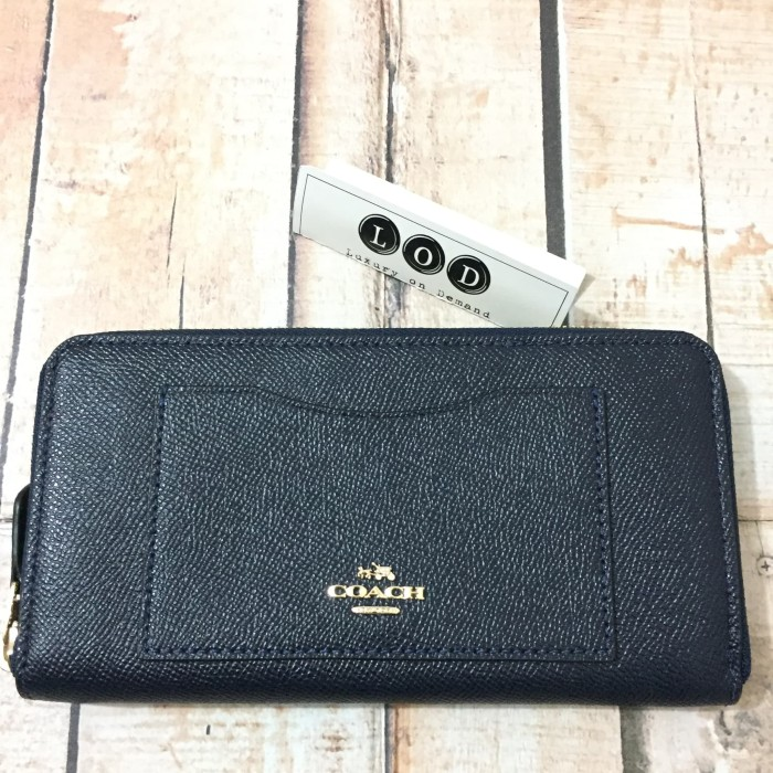 harga Coach leather accordion zip wallet Tokopedia.com