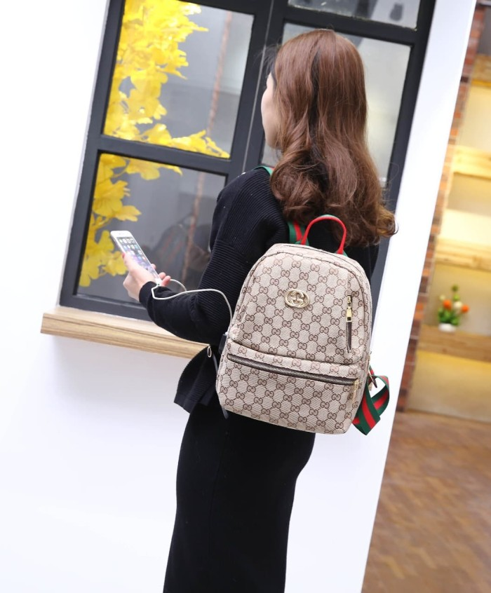 Jual New Arrivall Tas Gucci G138 Ransel - FA BATAM COLLECTION ... 7f39a1f355